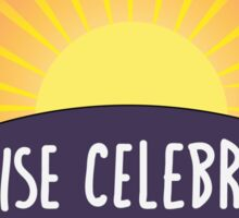 Sunrise Celebration Sticker