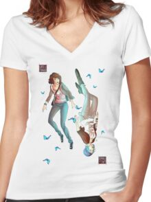 Life is Strange  - Max Women's Fitted V-Neck T-Shirt