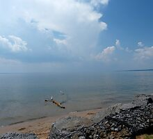 Storm Clouds Over Oneida Lake by briansbabe