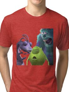 Monsters Incapacitated Tri-blend T-Shirt