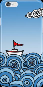 Happy Sailing by Julia Milner