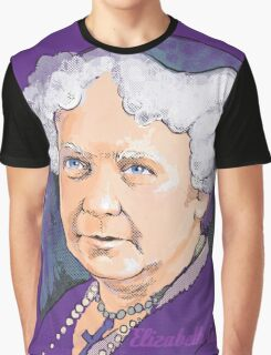 Elizabeth Cady Stanton - Suffragette  Graphic T-Shirt