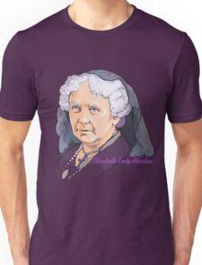 Elizabeth Cady Stanton - Suffragette  Unisex T-Shirt