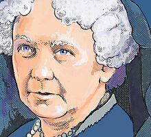 Elizabeth Cady Stanton - Suffragette  by Cori Redford