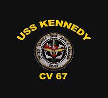 USS John F. Kennedy (CV-67) Crest for Dark Colors Classic T-Shirt