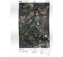 USGS Topo Map Washington State WA Tweedie 20110429 TM Poster