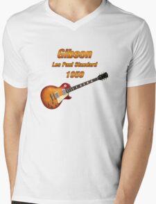 Vintage Les Paul 1959 Mens V-Neck T-Shirt