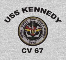 USS John F. Kennedy (CV-67) Crest One Piece - Long Sleeve