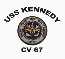 USS John F. Kennedy (CV-67) Crest by Spacestuffplus
