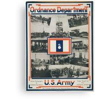 Ordnance Department US Army Canvas Print