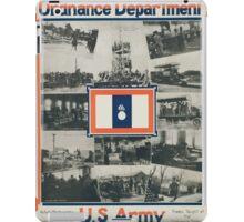 Ordnance Department US Army iPad Case/Skin