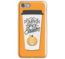Pumpkin Spice Season iPhone Case/Skin
