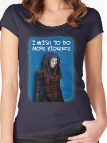 Illyria - I wish to do more violence Women's Fitted Scoop T-Shirt