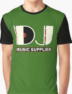DJ Music Supplier Graphic T-Shirt