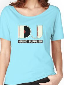 DJ Music Supplier Women's Relaxed Fit T-Shirt