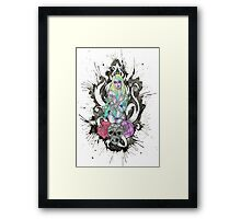 Rose'n Root Framed Print