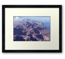 Planet in the Rough Framed Print
