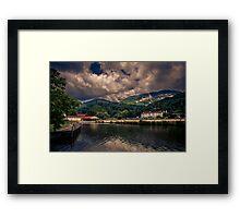 lake lure nc Framed Print