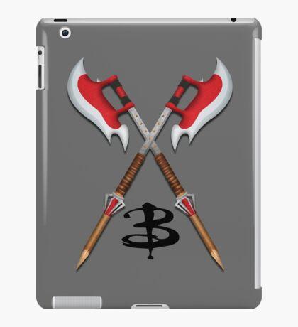 Buffy -- Scythes Crossed iPad Case/Skin