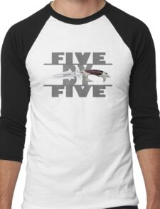 5 by 5 - Faith - Buffy the Vampire Slayer Men's Baseball ¾ T-Shirt