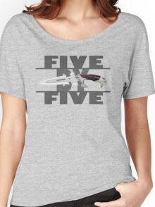 5 by 5 - Faith - Buffy the Vampire Slayer Women's Relaxed Fit T-Shirt