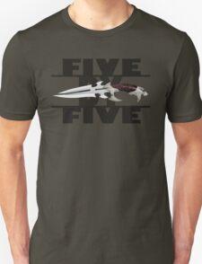 5 by 5 - Faith - Buffy the Vampire Slayer Unisex T-Shirt