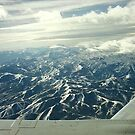 Wasatch Mountains from the Sky by steveschwarz