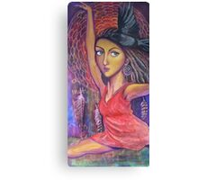 Grace - the Cosmic Danceer Canvas Print