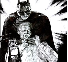 SOAPBOX GALLERY: Rush vs. Batman by MH Heintz