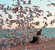The birds lover by Eugenia Gorac