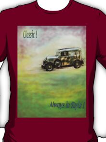 Classic ( in colors with transparency ) T-Shirt
