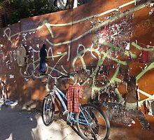 An East village bike by Eugenia Gorac