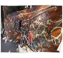 An East village bike Poster