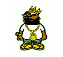 THE NOTORIOUS B.I.G. - THE KING OF NEW YORK Art Print