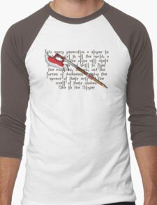 Buffy Slayer Scythe Men's Baseball ¾ T-Shirt