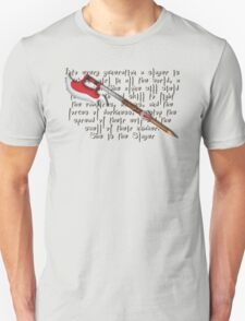 Buffy Slayer Scythe T-Shirt