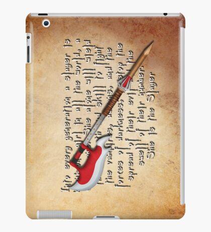 Buffy Slayer Scythe iPad Case/Skin