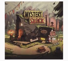gravity fall mystery shack Kids Tee