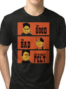 Angel - The Good, the bad, and the made of felt Tri-blend T-Shirt
