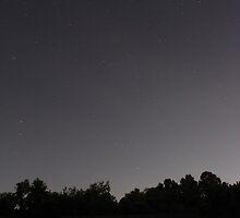 Night Sky Over Trestle by David Misko