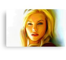 Elisha Cuthbert - Oil Painting Canvas Print