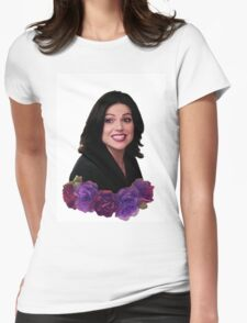 Regina is cute af Womens Fitted T-Shirt