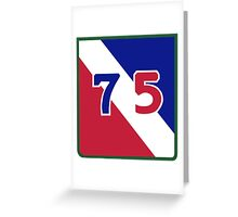 75th Infantry Division (United States) Greeting Card