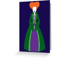 Hocus Pocus - Winnie Sanderson Greeting Card