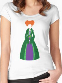 Hocus Pocus - Winnie Sanderson Women's Fitted Scoop T-Shirt