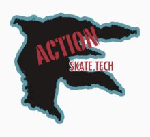 ACTION SKATE TECH Hoodie, T-shirt, or Sticker by Kris Graves