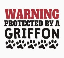 Protected By A Griffon Kids Tee