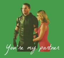 Olicity - You're My Partner One Piece - Short Sleeve