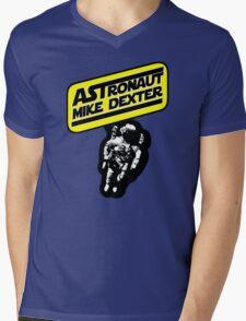 Astronaut Mike Dexter Mens V-Neck T-Shirt