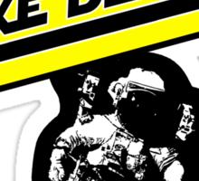 Astronaut Mike Dexter Sticker